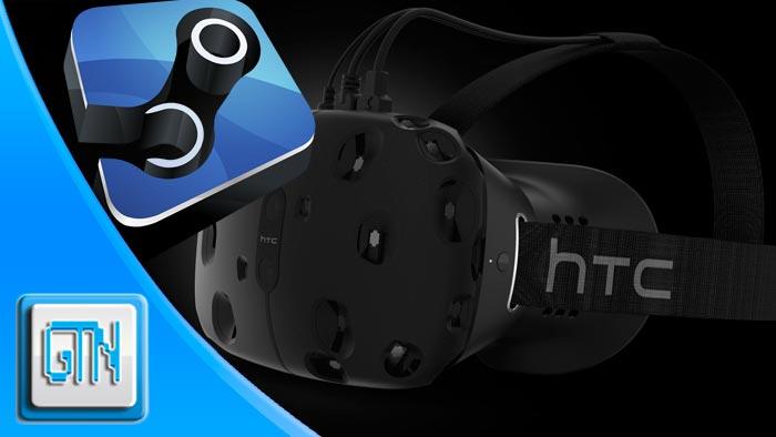 Valve HTC VR Headset Steam Machine