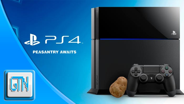 PlayStation 4 Potato Box Peasant