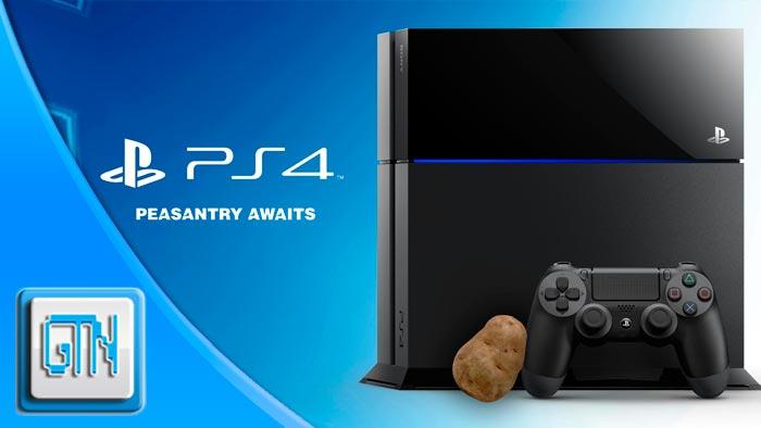 PlayStation 4 Potato Box Peasant
